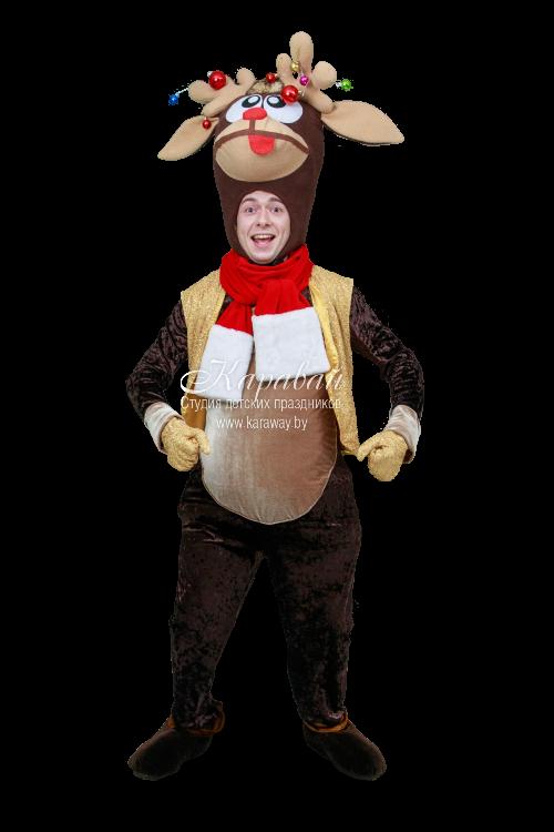 Ростовая кукла Рождественский олень