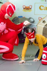 Аниматоры Герои в масках