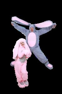 Аниматоры зайцы для детей