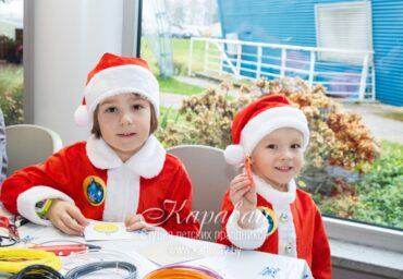 Новый год для детей в офисе
