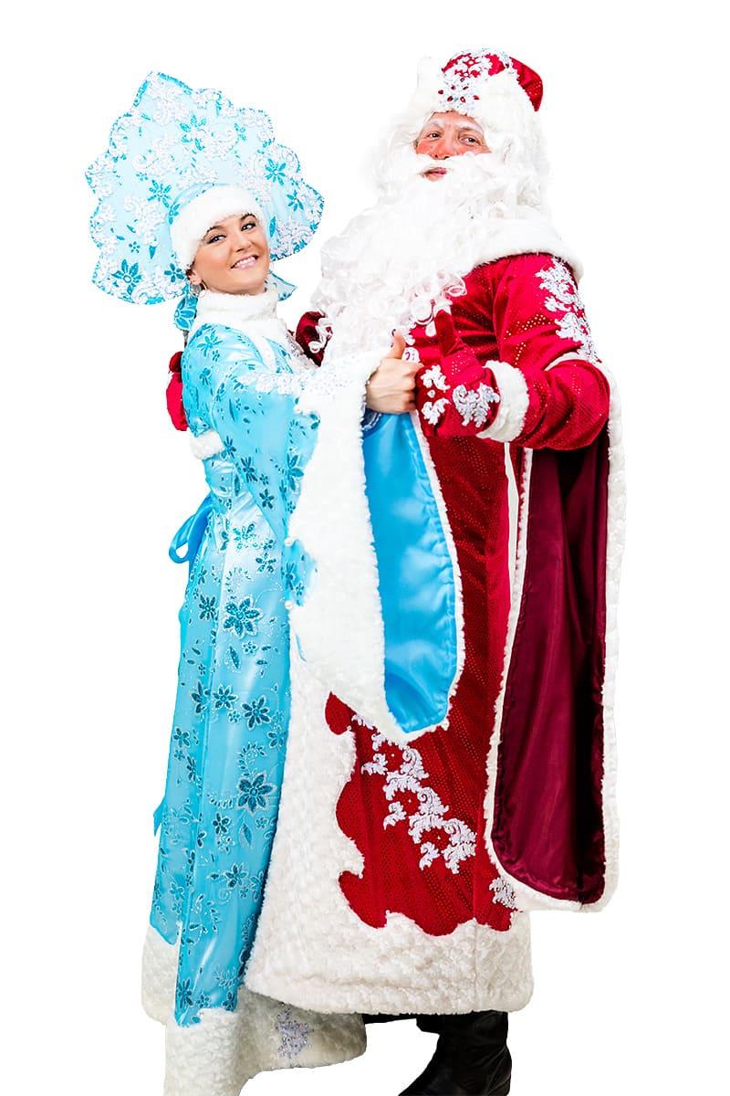 Лесные встречи с Дедом Морозом
