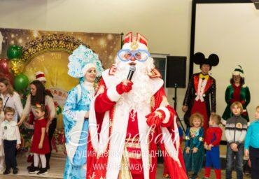 Дед Мороз и Снегурочка в офис